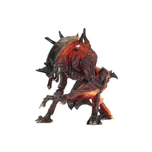 Aliens Rhino Alien mozgatható akció figura (Kenner Tribute mini képregénnyel) 25 cm