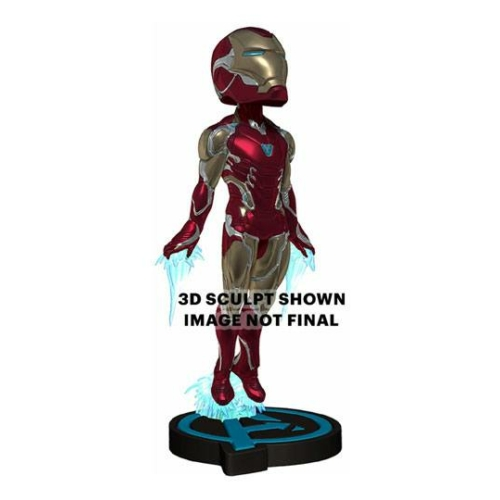 Avengers Endgame Head Knocker Bobble-Head bólogató fejű Iron Man figura 20 cm