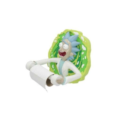 Rick and Morty Toilet Roll Holder Rick WC papír tartó figura 23 cm