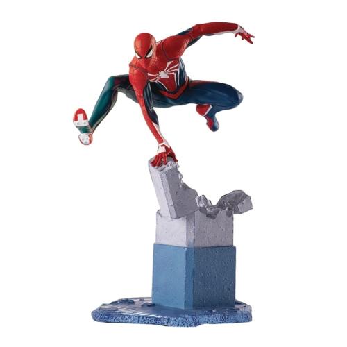 Marvel's Spider-Man Marvel Gamerverse 1/12 SpiderMan Pókember gyűjtői szobor 17 cm