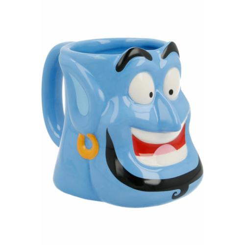 Disney Aladdin Genie Dzsinn 3D kerámia bögre