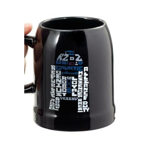 STAR WARS kerámia sörös korsó R2-D2 10 cm 0.35 L