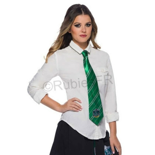 HARRY POTTER Slytherin Mardekár kiváló minőségű szatén nyakkendő