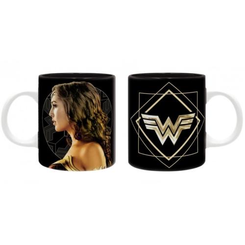 DC Comics Wonder Woman golden logo bögre 320 ml