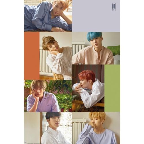 BTS Group Collage poszter LP2147