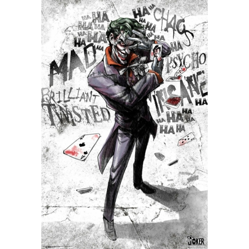 DC Comics Joker type poszter FP4871