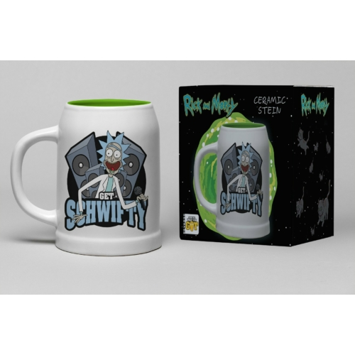 Rick and Morty Get Schwifty kerámia korsó 600 ml