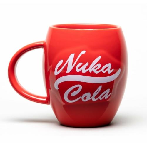 FALLOUT Nuka Cola Oval kerek bögre 450 ml
