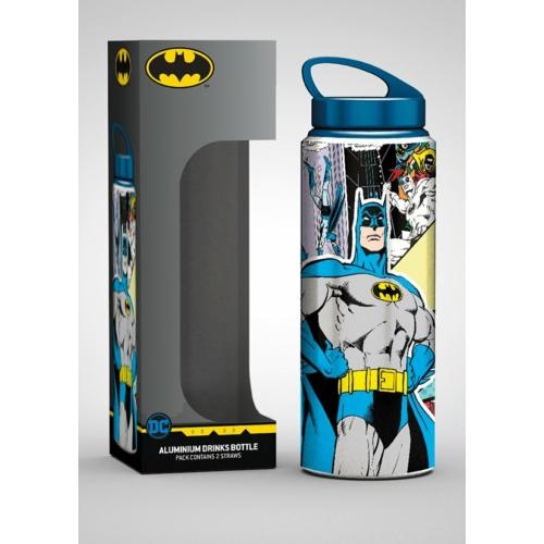 DC Comics Classic Batman aluminium kulacs utazóbögre