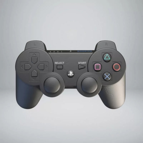 Playstation Dual Shock formájú stresszoldó stresszlabda kontroller