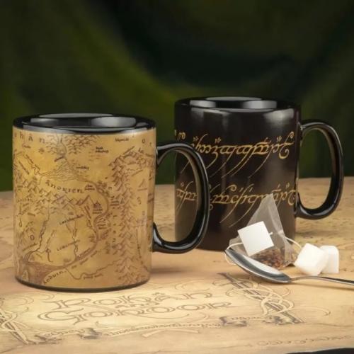 Lord Of The Rings Gyűrük Ura XL nagyméretű hőre változó bögre 550 ml