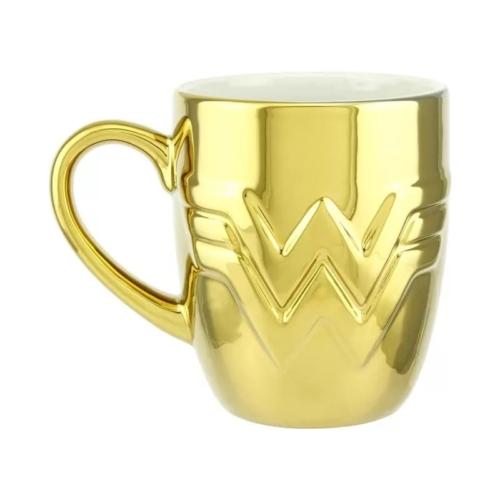 Wonder Woman 1984 Exkluzív Arany Logo bögre 350 ml