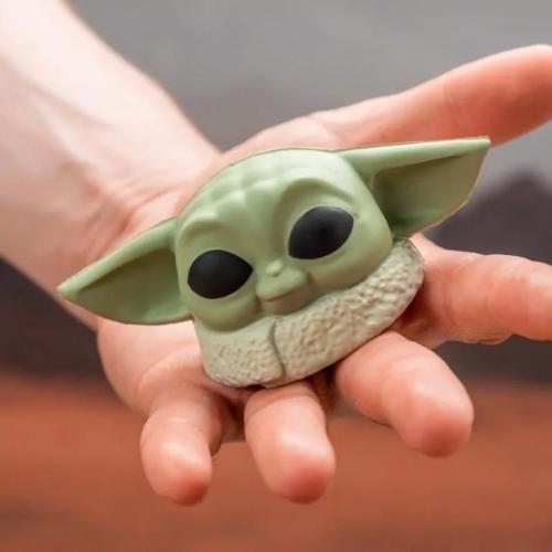 Star Wars The Mandalorian Baby Yoda The Child formájú stresszlabda