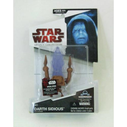 Star Wars Legacy Collection - Csillagok háborúja Darth Sirious Hologram figura