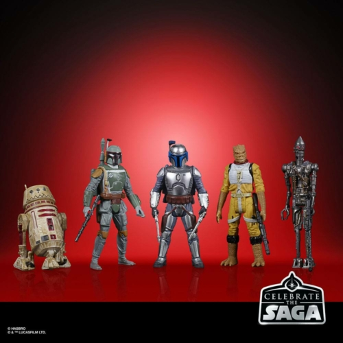 Star Wars Celebrate the Saga Action Figures 5-Pack Bounty Hunters mozgatható figura szett 10 cm