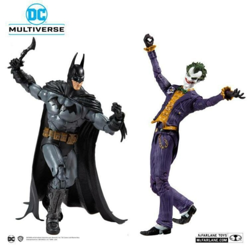 DC Multiverse Action Figure Collector Multipack Arkham Asylum Batman VS Arkham Asylum Joker mozgatható dupla figura készlet 18 cm