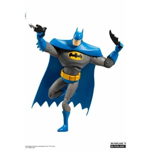 DC Multiverse Animated Action Figure Animated Batman Variant Blue/Gray mozgatható figura 18 cm