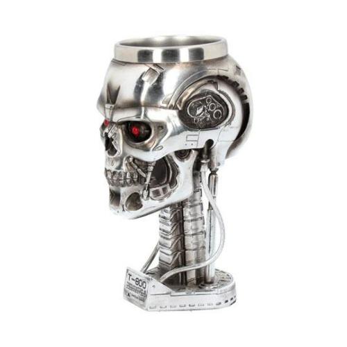 Terminator 2 Goblet Head kézzel festett Exkluzív 17 cm magas serleg