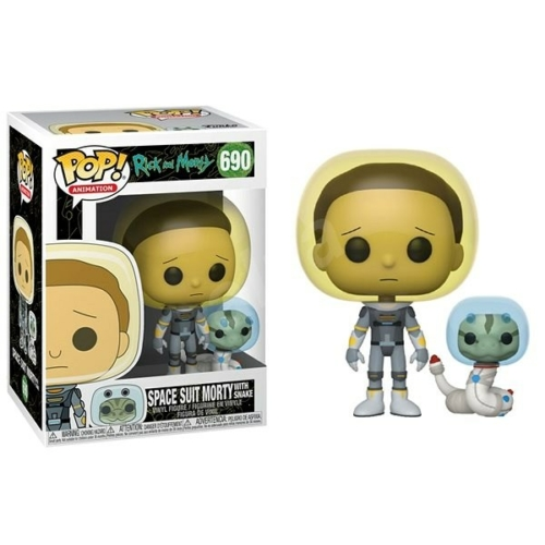 Rick and Morty POP! Space Suit Morty with Snake figura 9 cm