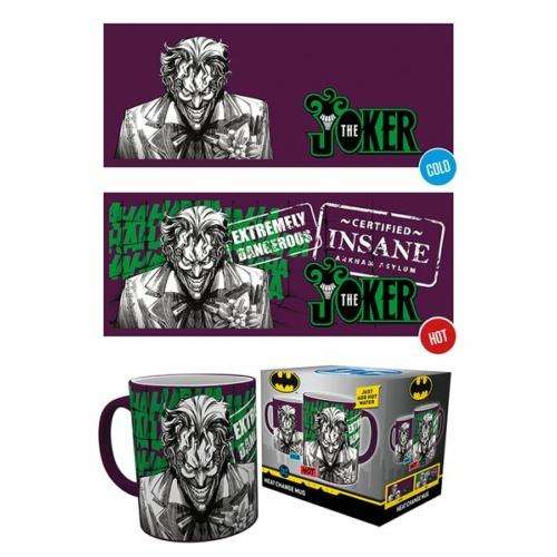 DC Comics The Joker hőre változó bögre