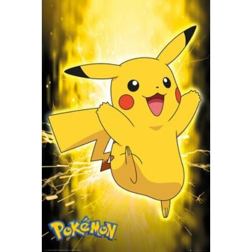 Pokemon Pikachu Neon poszter FP4716
