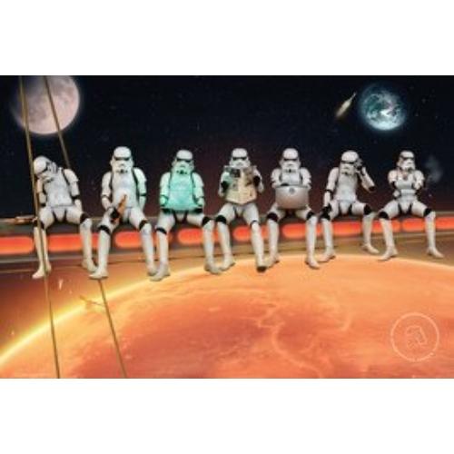 Star Wars Stormtrooper on girder poszter FP4793