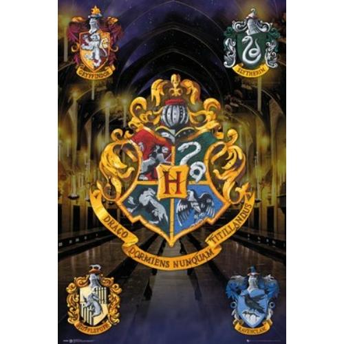 HARRY POTTER Crests poszter