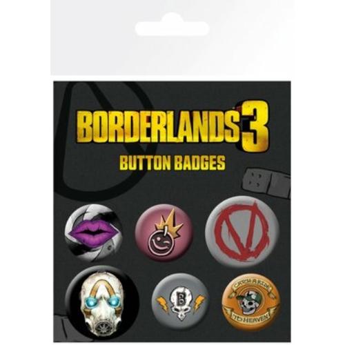 BORDERLANDS 3 Icons kitüző készlet