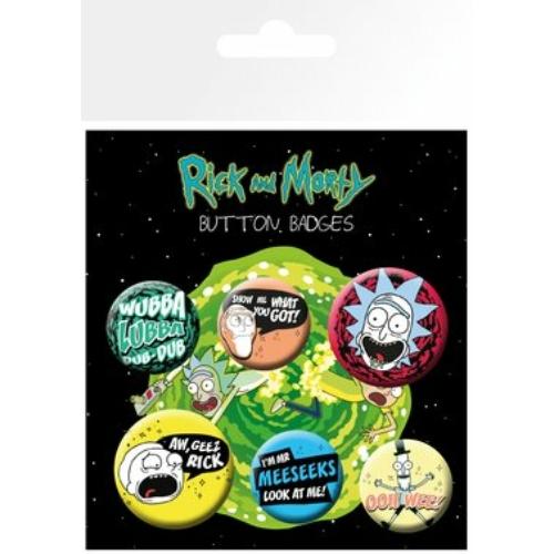 Rick and Morty mix kitüző szett