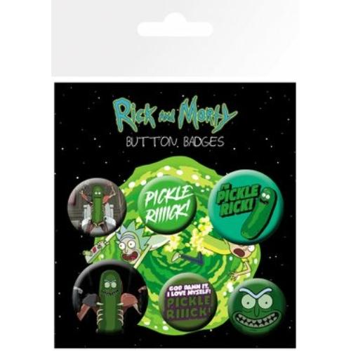 Rick and Morty Pickle Rick kitüző készlet