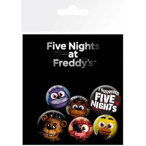 FIVE NIGHTS AT FREDDYS FNAF kitüző készlet