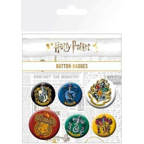 HARRY POTTER House Crests kitüző készlet
