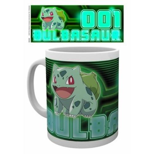 Pokemon Bulbasaur neon bögre