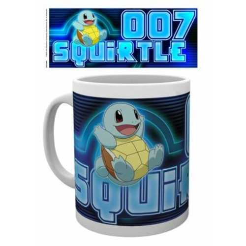 Pokemon Squirtle neon bögre