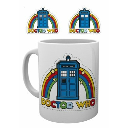 Doctor Who Rainbow bögre 300 ml