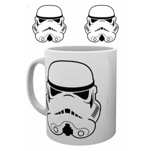 Star Wars Stormtrooper minimal design bögre