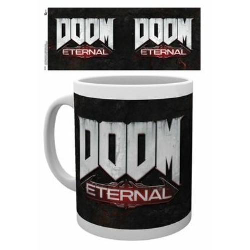 Doom Eternal logo bögre 300 ml