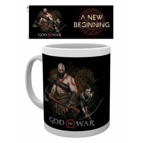 God of War new beginning bögre 300 ml