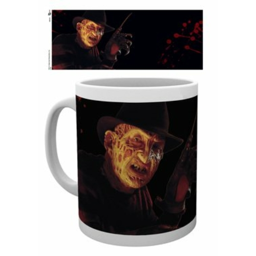 Nightmare on Elm street Freddy Krueger bögre 300 ml