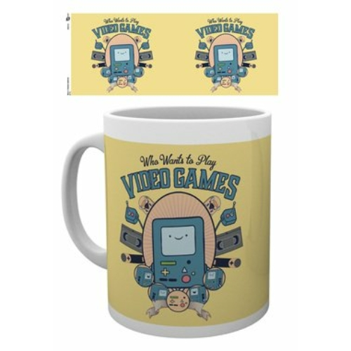 Adventure Time Kalandra fel Video games bögre