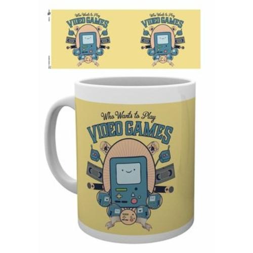 Adventure Time Kalandra fel Video games bögre 300 ml