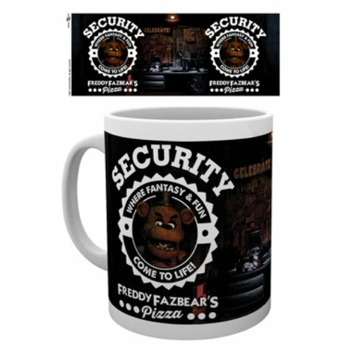 FNAF Five nights at Freddy's Security bögre