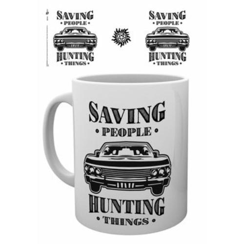 Supernatural Odaát Hunting things Impala bögre