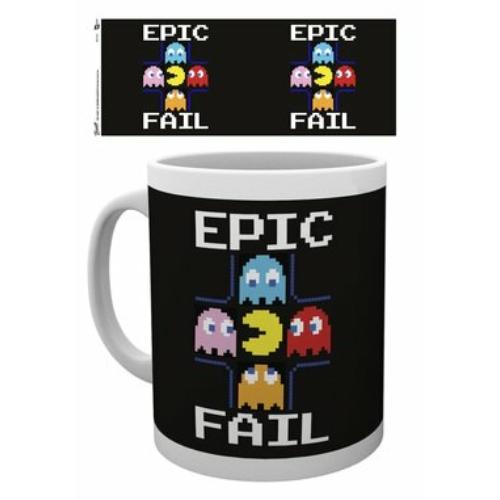 Pac-man epic fail bögre