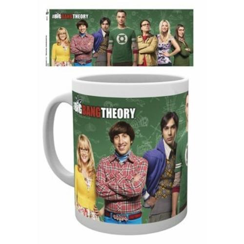 The Big bang theory Agymenők bögre 300 ml