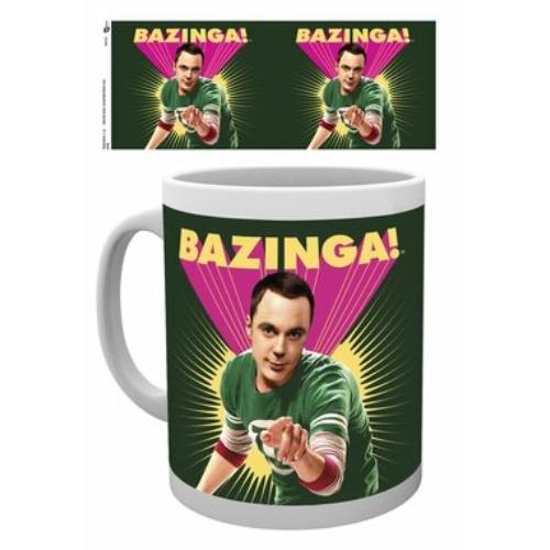 The Big bang theory Agymenők BAZINGA bögre