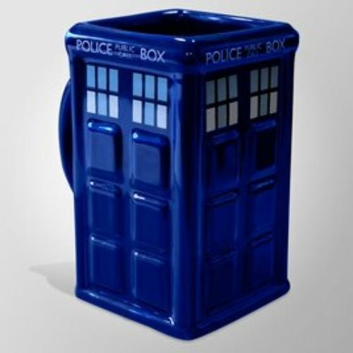 Doctor Who Tardis 3D bögre