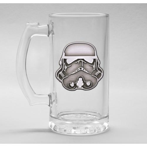 Star Wars Original Stormtrooper fém díszes üveg korsó 500 ml