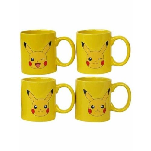 Pokemon Pikachu espresso kávés bögre szett