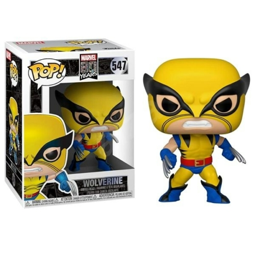 Marvel 80 years edition classic X-men Wolverine POP figura (547)